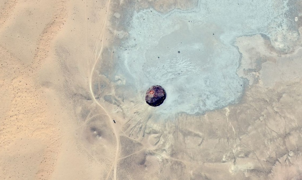 Bing-map-aerial-of-Door-to-Hell-The-Burning-Crater-of-Darvaza-