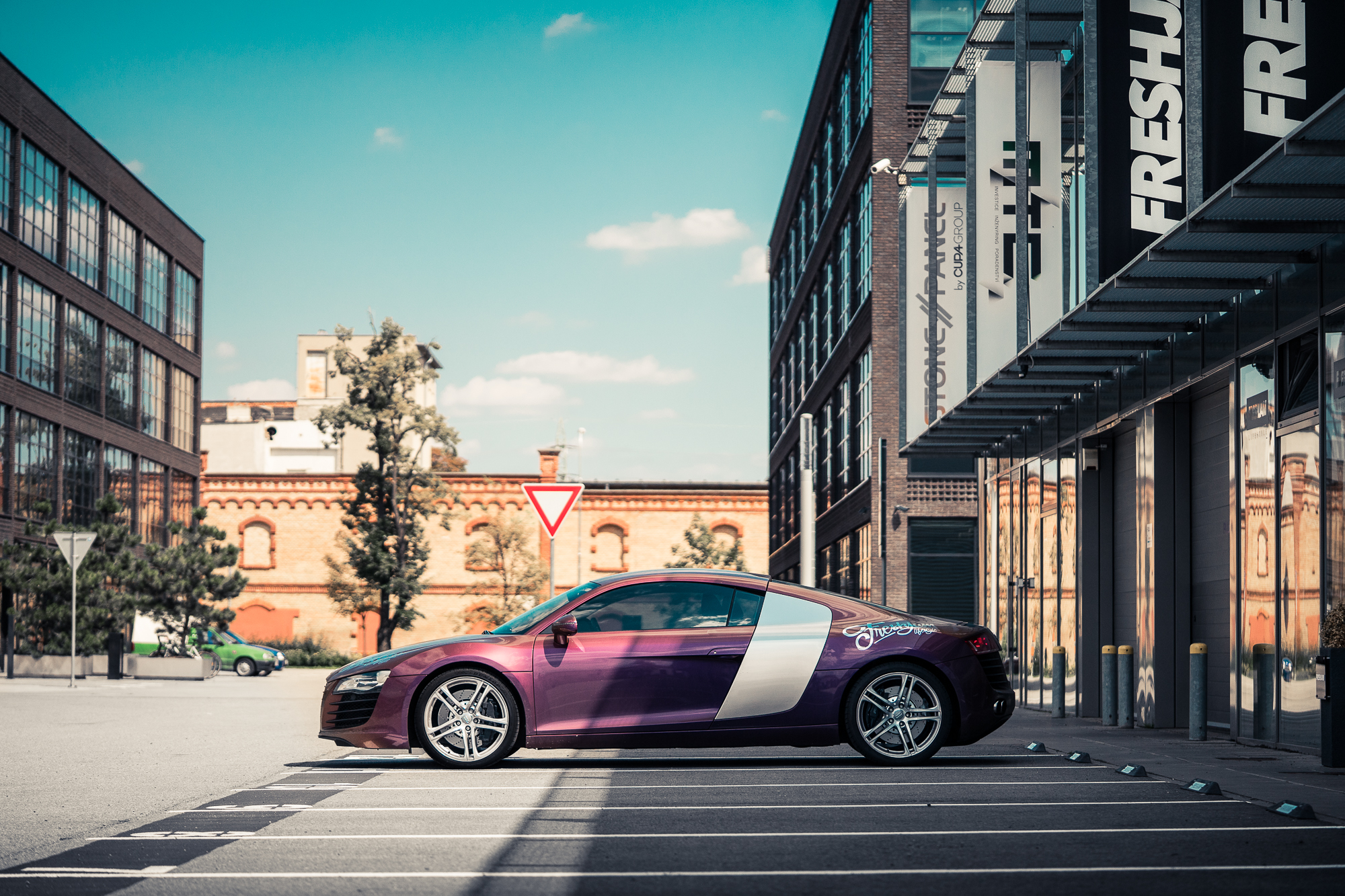 Audi R8 Side Autoflex ZTR Summer