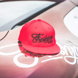 Snapback FRESHJAM Lifestyle Flex Red x Black