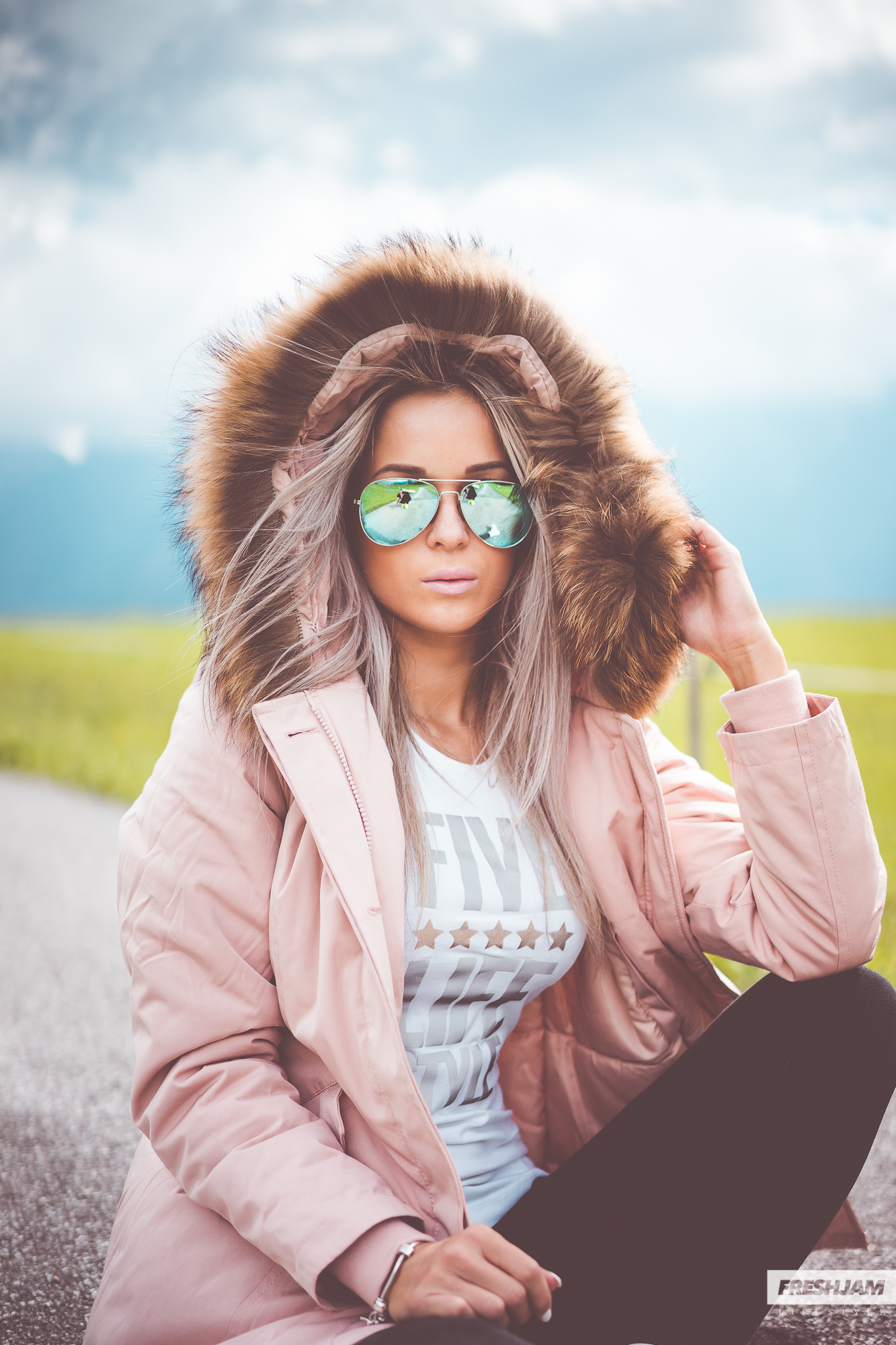 Five Star Lifestyle Colorful Winter Jacket