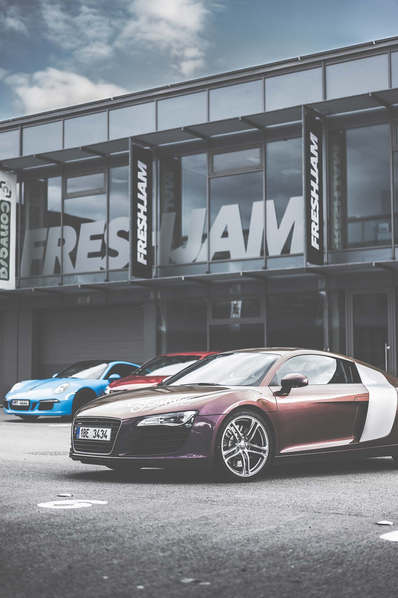 R8 Showroom First