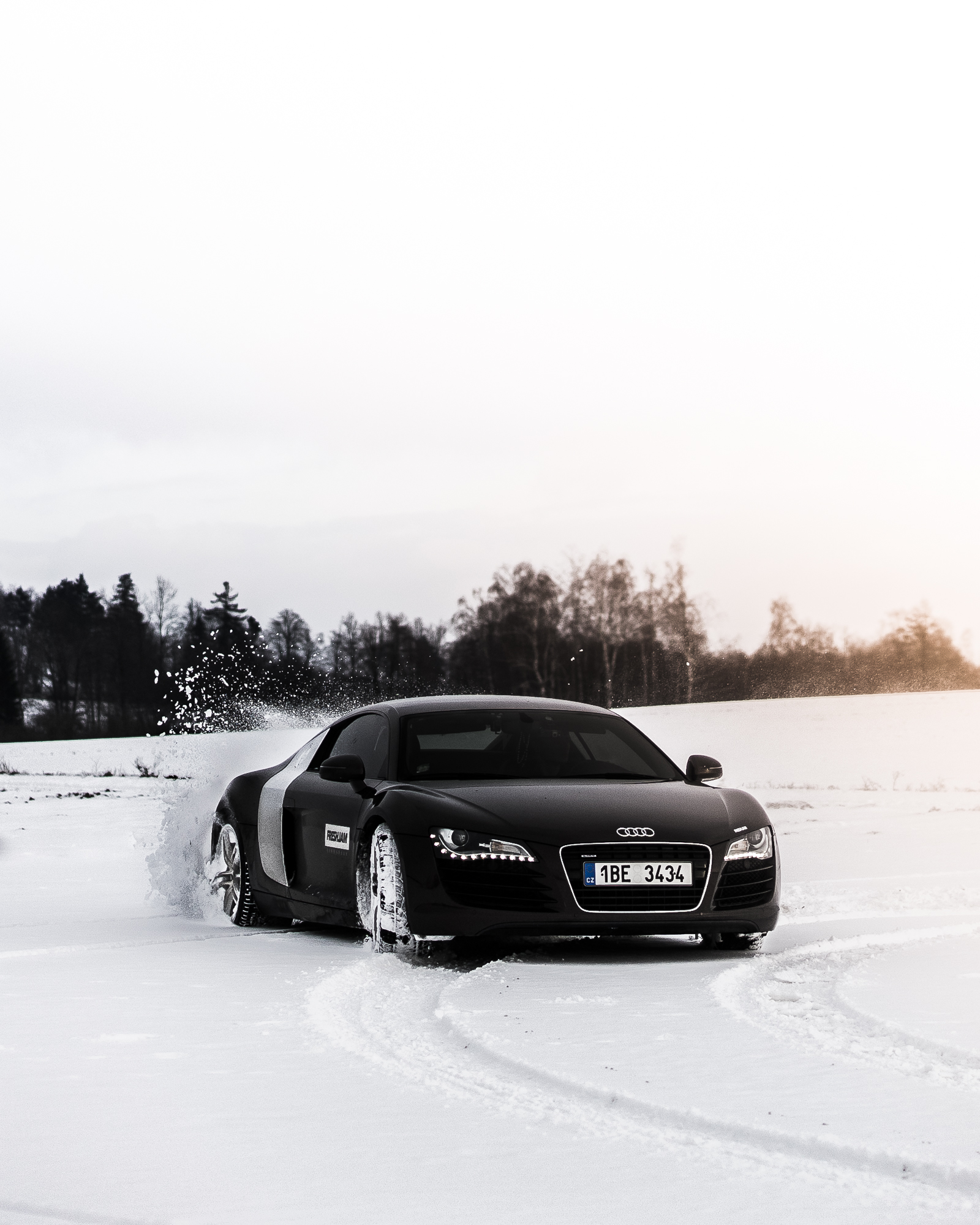 First Snow Drift Donuts with R8
