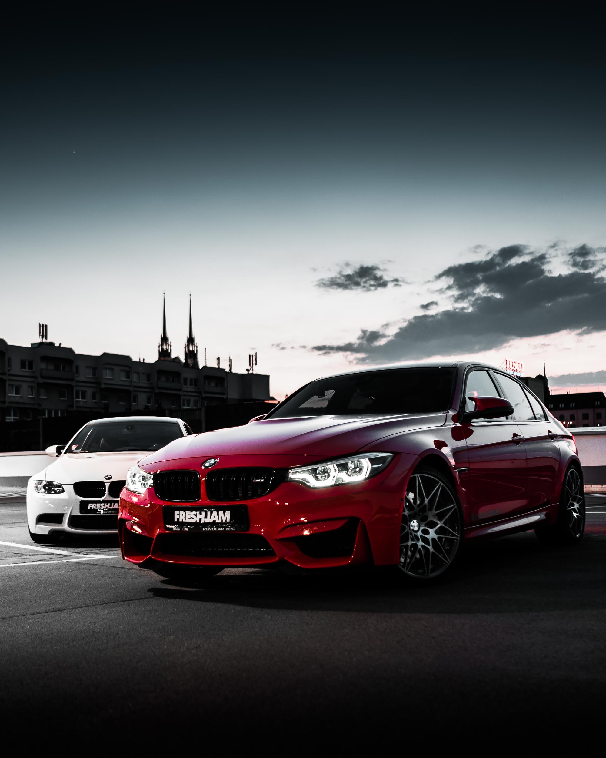 M3 Red M3 White Evening Dark