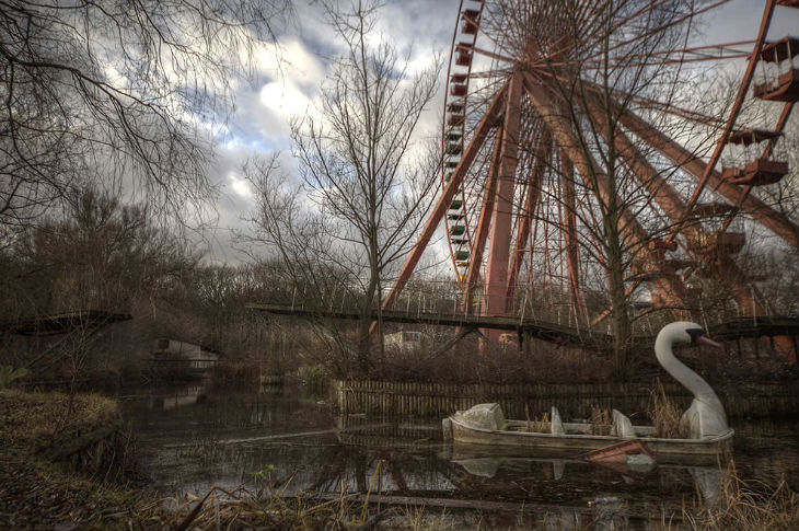 Spreepark, Berlin, Germany