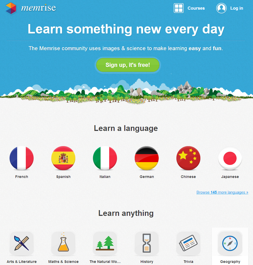 learn-something-new-every-day-memrise