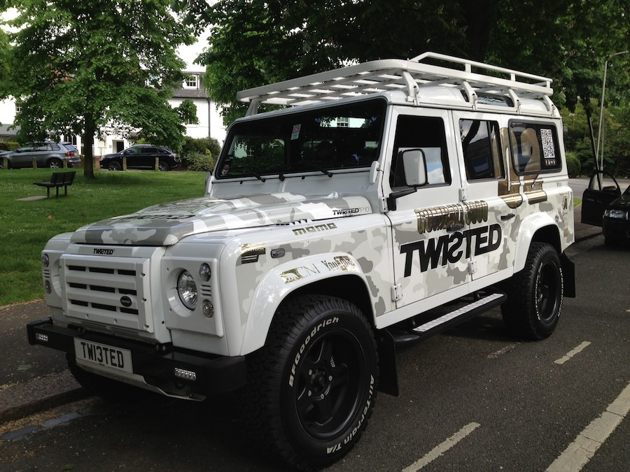 Twisted-LandRover