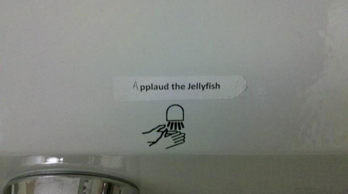 applaud-the-jellyfish-sign