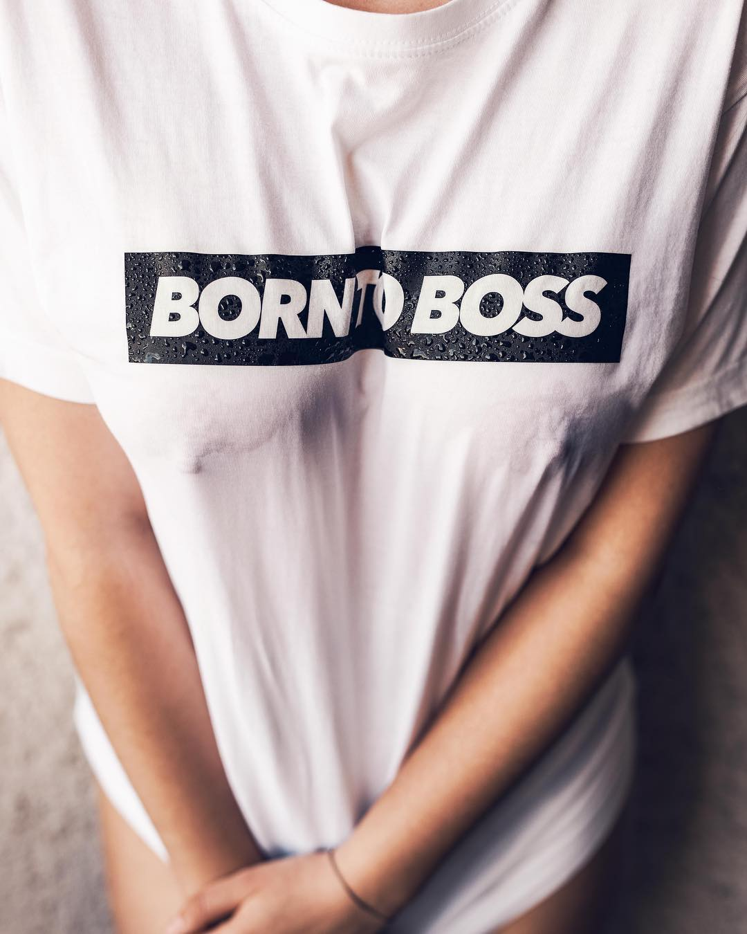 BORN TO BOSS wet