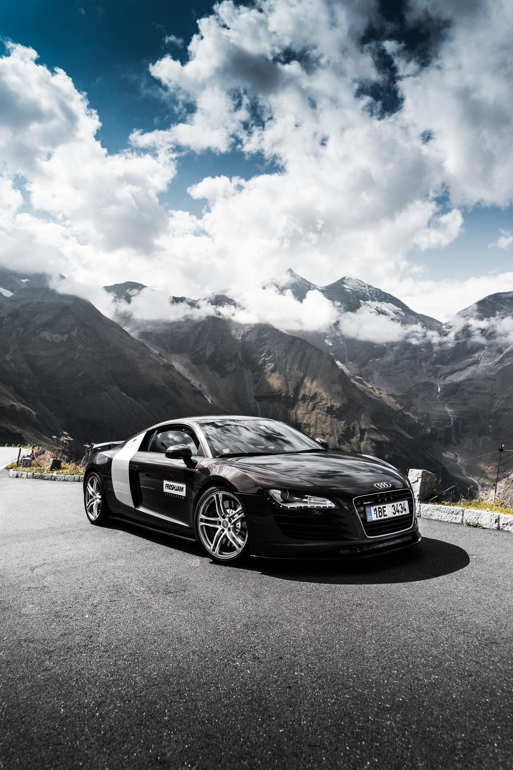 R8 and Grossglockner Clouds